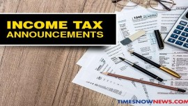 Income tax e-returns filed for the April-January